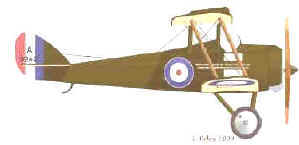 AIRCO De Havilland Model 5 (DH5)