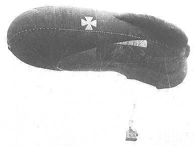 German Observation Balloon