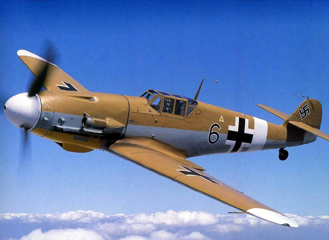 Messerschmitt ME 109, most famous German fighter