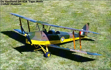 De Havilland DH 82A Tiger Moth