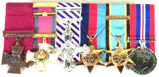 Coutesy of Trustees of the RAF Museumm, Hendon; Wing Commander Guy Gibson's medals