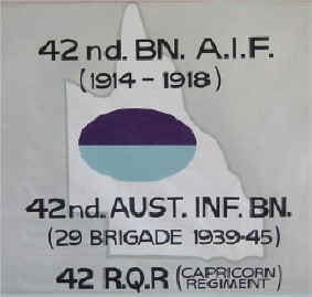 Banner that links the various Battalions that use the number 42.