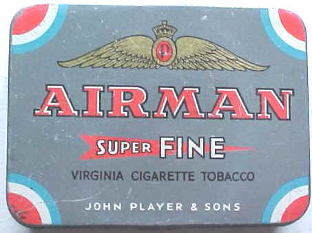 RAF Tobacco AIRMAN Tin by Players NZ EDITION!
