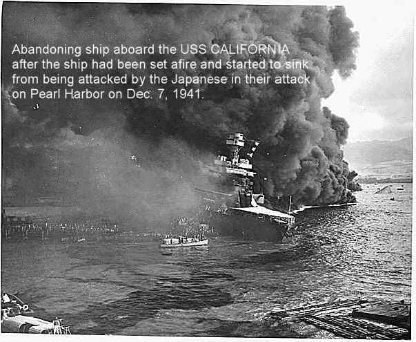 the ese attack on pearl harbour dec