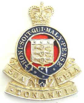 Royal NZ Army Ordnance Corps Anod Cap Badge