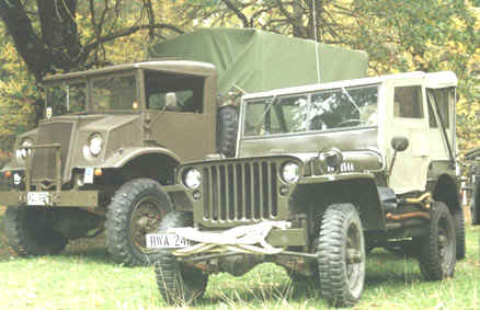 F15A Ford Blitz and Willys MB Jeep