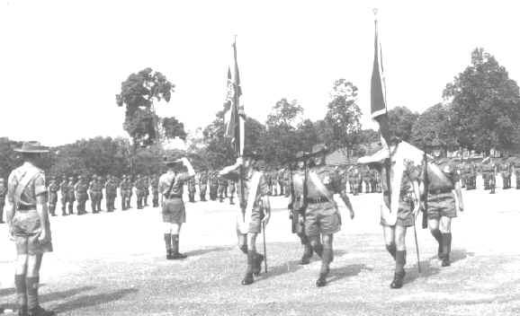 The Colours, a Regiment's prize possession
