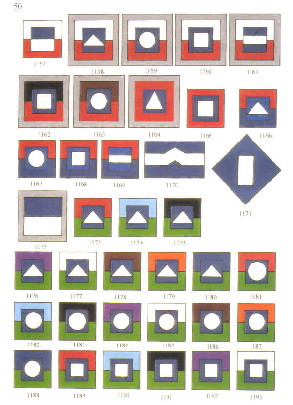 Colour patches for aasc medical