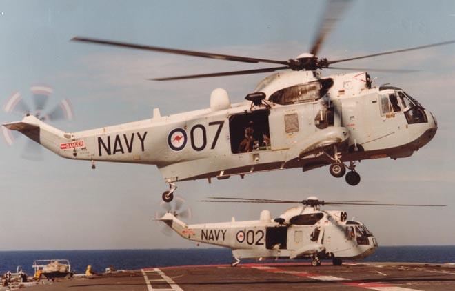 海王SH-3(西科斯基S61)舰载直升机