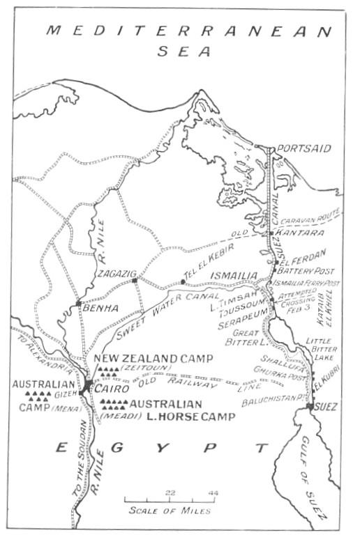 Aussies In Maadi Meadi Camp Egypt - Map of egypt heliopolis