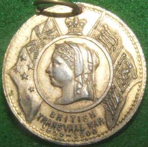 Wording: British Transvaal War 1899-1900