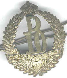 New Zealand expeditionary forces cap badge
