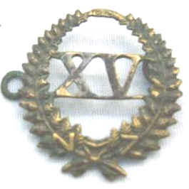 15th Reinforcement Badge