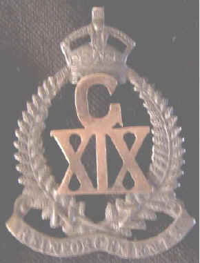 WW1 NZ SWEETHEARTS BADGE - C X1X - KINGS CROWN