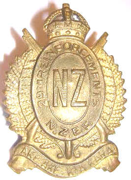 WW1 - 29th Reinforcement Cap Badge