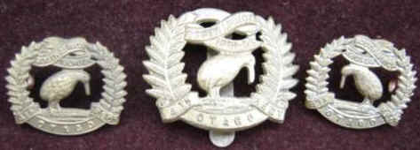 4th Otago Rifles Badge Set
