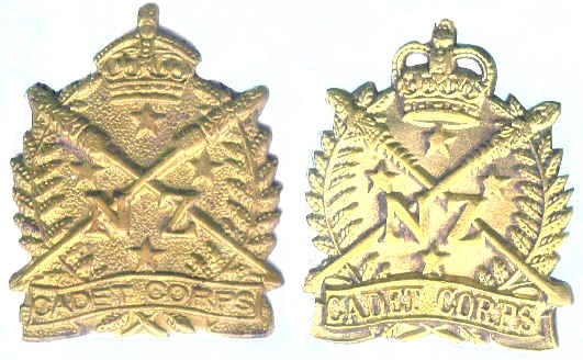 Corps badges of the NZ Army, 1911 to now