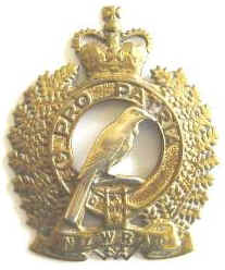 NZ Womens Royal Army Corps Q/C Badge