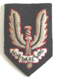 NZ Special Air Service Officers Hat Badge