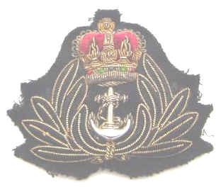 SCARCE RN or RNZN Navy Chaplains Cap Badge