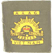 Cloth insignia worn in Vietnam