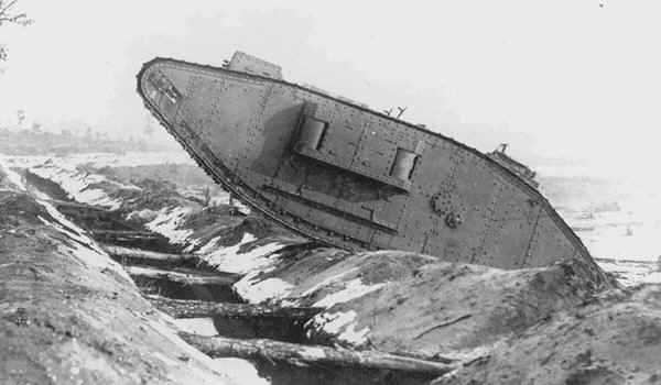 Allied armour of WW1; where it began