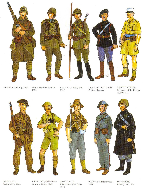 Famoso seconda guerra mondiale: chi era l'esercito vestito meglio? - Pagina 2 WN15